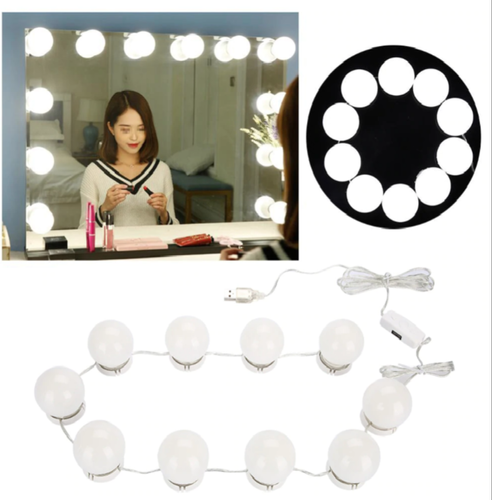 Bulbs Makeup Mirror Vanity Led Light