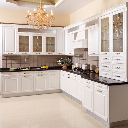 Melamine Board Kitchen Cabinet at Rs 150000 unit Modern