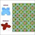 Grass Paver Moulds (300mm x 300mm x 60mm) 60 mm 622A - Plain