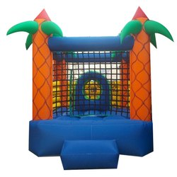 Outdoor Jungle Jumping Bouncy