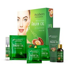Astaberry Argan Oil De Pigmentation Facial Kit, Self Life: 2 Years