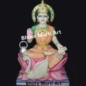 White Marble Mata Gayatri Statue