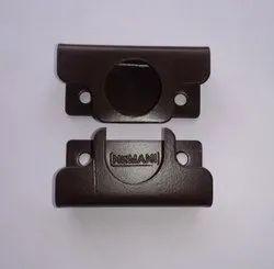 Nemani Powder Coated Pipe Bracket, Size/Dimension: 20mm