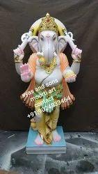 Stone Ganesha Sculpture