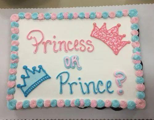 Pleasant Wanors Round Eggless Baby Shower Birthday Cake Weight 2Kg Rs Funny Birthday Cards Online Amentibdeldamsfinfo