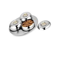 Stainless Steel Multi Purpose Platter Set