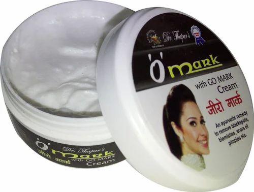 Zero Mark Anti Blemishes And Anti Scar Cream, Packaging Type: Plastic Container