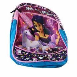 Nylon Girls Printed School Bag