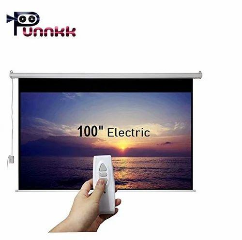 Punnkk E7 Motorized Projector Screen