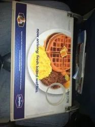 Airline Food Tray Advertisement Services