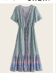 Ethnic Wear Organic Cotton Printed Traditional Indian Dress
