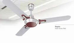 Regalia Pearl Silver Red Ceiling Fan