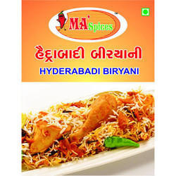 MA Spices 100 g Hyderabadi Biryani Masala, Packaging: Packet