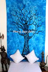 Mandala Wall Hanging Twin Printed Cotton Decor