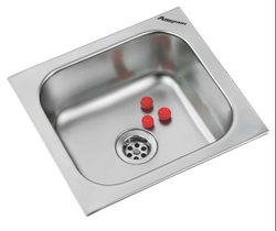 Anupam AISI-304 Grade Stainless Steel Sink, Size: Rectangle