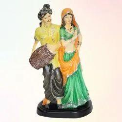 Antique Rajasthani Dholak Statue