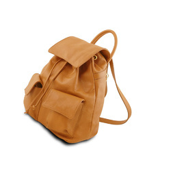 Unisex Leather shoulder Anti theft backpack