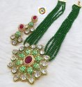 CL jewellery Meenakari Kundan Crystal customised fashion jewellery necklace set