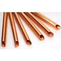 Copper Plumbing Tube, Size/Diameter: 1 Inch, for Industrial Use