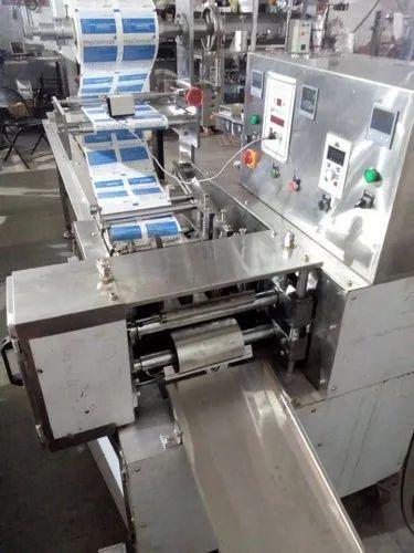 Two Track Flow Wrap Machine