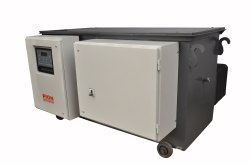 Three Phase Automatic 3 Phase Oil Cooled Servo Voltage Stabilizer, 415V