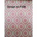 P108 Non Woven Metallic Printed Fabric