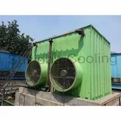 Fiberglass Reinforced Polyester Frp Induced Draft Cooling Tower, Capacity: 1.1 Kw - 3 K.w Only, Cooling Capacity: 20000 Cfm