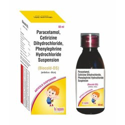 Biozen Orange Biocold DS Anti Cold Suspension, Bottle Size: 60 mL