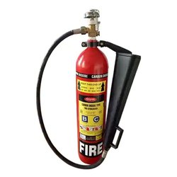 Ampex Mild Steel Co2 Fire Extinguisher, For Fire Extinguishing