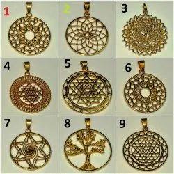 Brass Hand Made Pendant