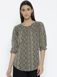 Printed Top Full Sleeves