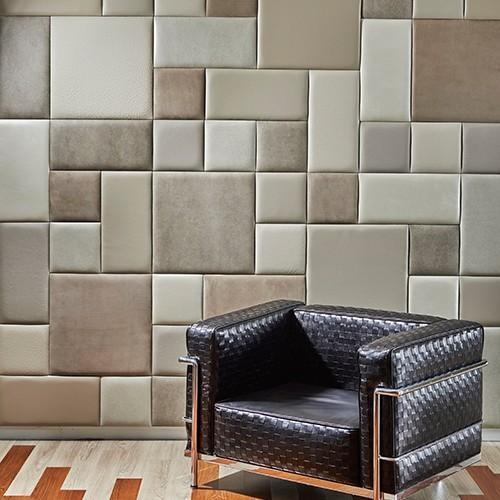 Designer 3D Leather Wall Panel