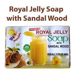 Superbee Royal Jelly Soap With Sandal Wood and Propolis Soap With Aloe Vera