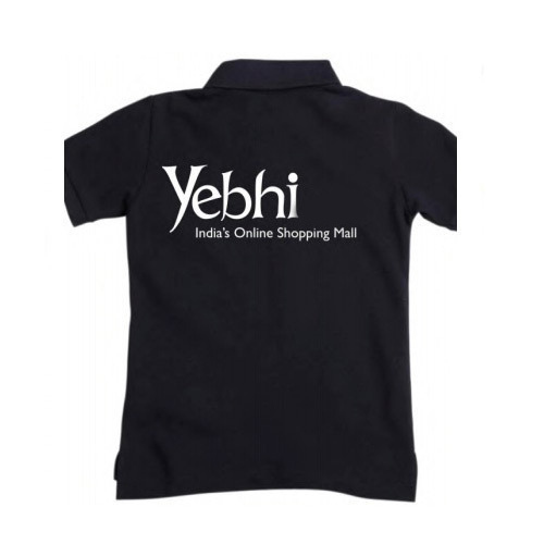 Black Stylish Promotional T-Shirt