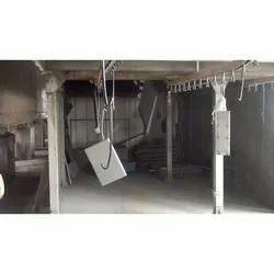 Steel Metal Sheet Powder Coating Service, Spray