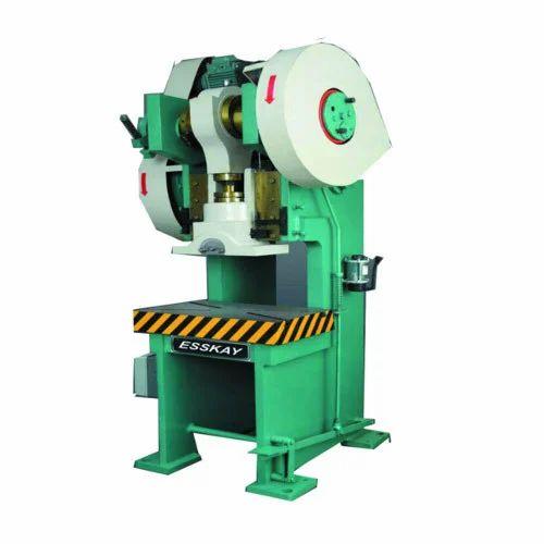 Power Press Machines C Type Power Press Machine Manufacturer From Indore