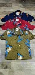 3 Colour Available Collar Neck Men Designer Shirt