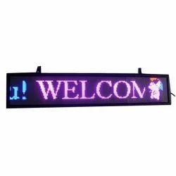 Scrolling LED Display Board