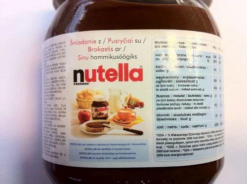 Nutella Xxxl Cream Spread With Hazelnuts Chocolate Spreads