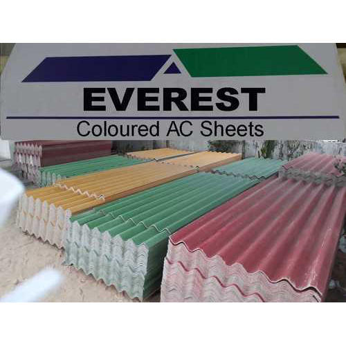 Colour Coated Asbestos Cement Roofing Sheet