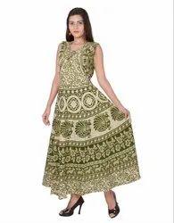 Ladies Jaipuri Koti Frock