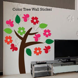 Color Tree Wall Sticker