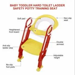 Generic Yellow and Red Toilet Seat for Kids for Home