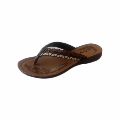 173cf261121f Aerowalk Ladies Brown Slippers