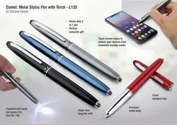 Pen With Torch And Stylus