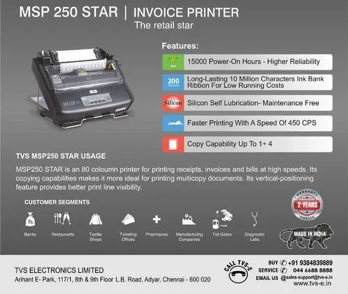 TVS DOT MATRIX PRINTER MSP 250 STAR WINDOWS 8 DRIVERS DOWNLOAD (2019)