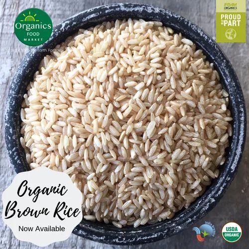 Organic Sona Masoori Brown Rice