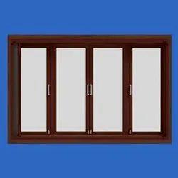 Wood Brown TATA Vista Windows, Rectangular