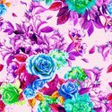 Digital Printed Floral Design Fabric