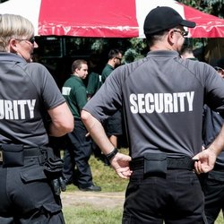 Unarmed Male Construction Security Service